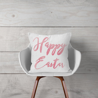 Watercolor-Pink-Happy Easter