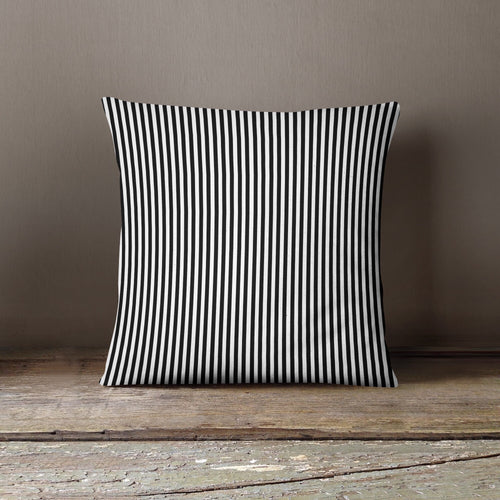 Black & White Stripe- Pillow Cover