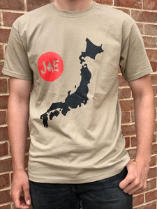 Khaki Green Map T-Shirt