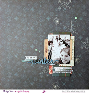 HELLO WINTER - PL52 2018 Week 2 Layout