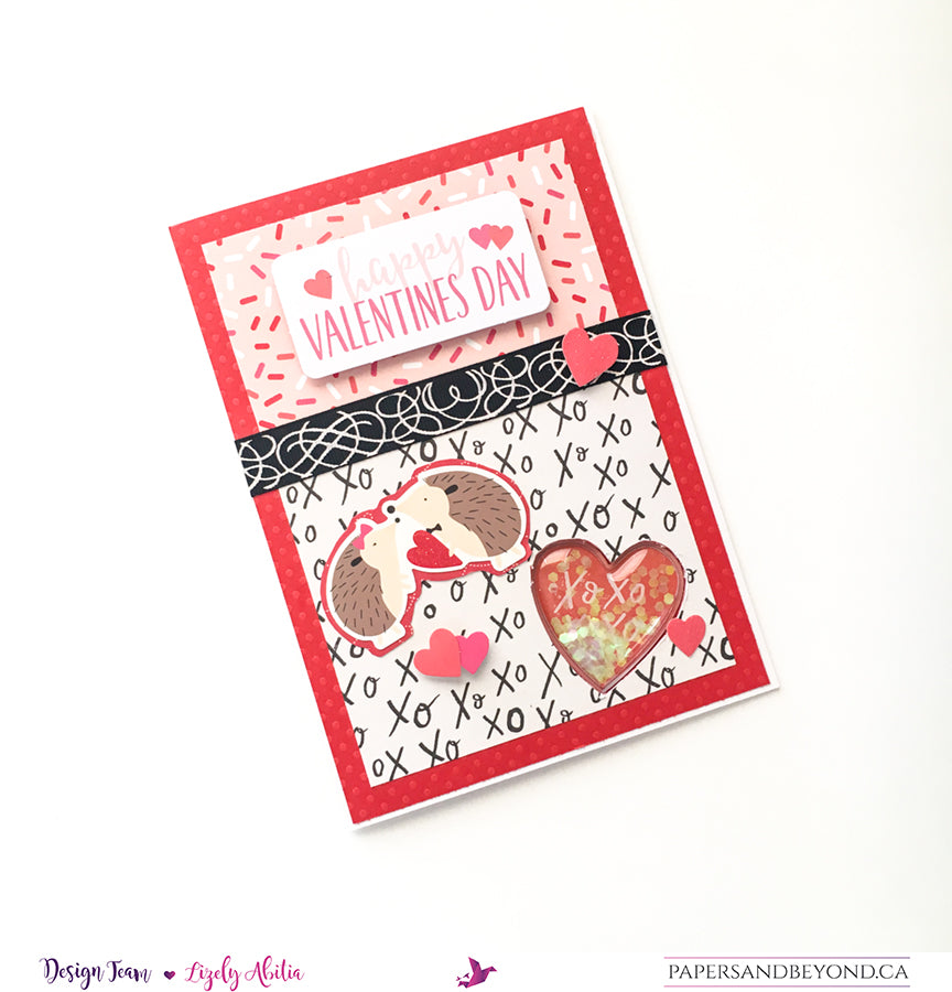 HUGS & KISSES - Valentine's Day Card
