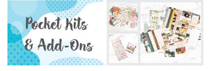 Canada online scrapbooking pocket kits: Project Life, Journaling Cards, Embellishments and Patterned Papers. All you need in one place.