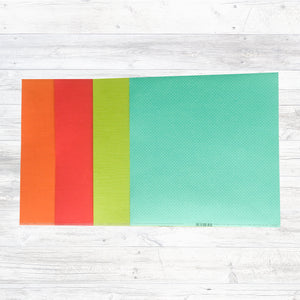"""A COLOURFUL DAY"" MATCHING CARDSTOCK ADD-ON"
