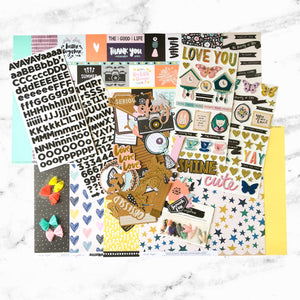 """CHOOSE TO SHINE"" SCRAPBOOK KIT"