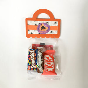 HALLOWEEN BAG TOPPERS (Set of 5) - Style B