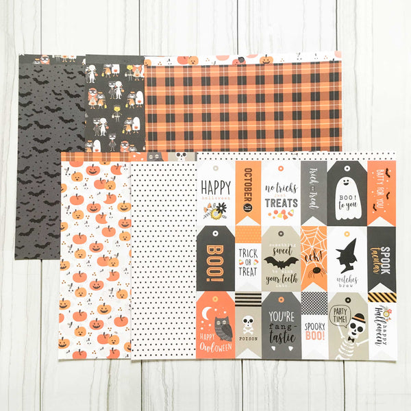 """BOO"" - MINI HALLOWEEN KIT"