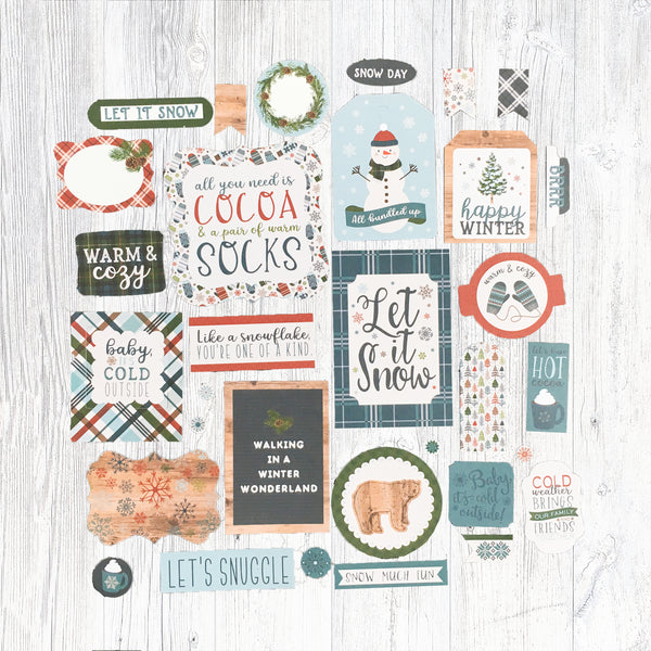 """HELLO WINTER"" EMBELLISHMENT ADD-ON"