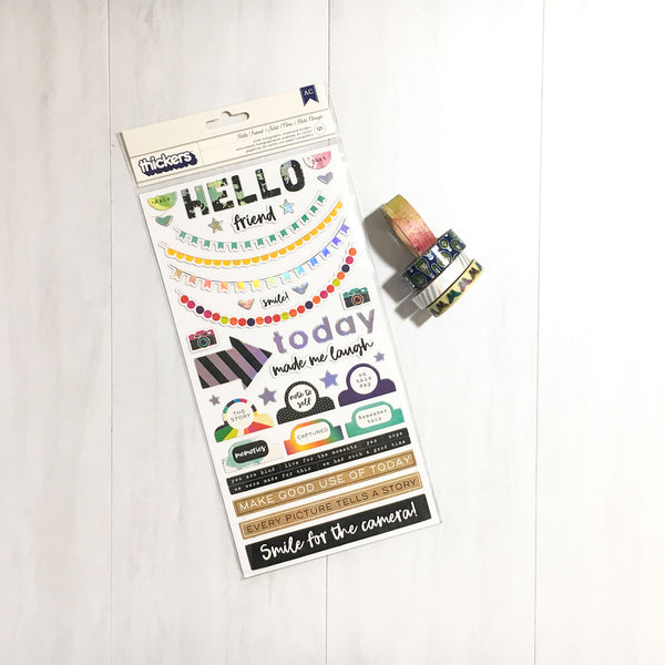 """CHASING RAINBOWS"" EMBELLISHMENT ADD-ON"