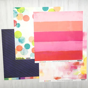 """CHASING RAINBOWS"" PATTERNED PAPER ADD-ON"
