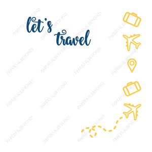 Let's Travel - Cut File