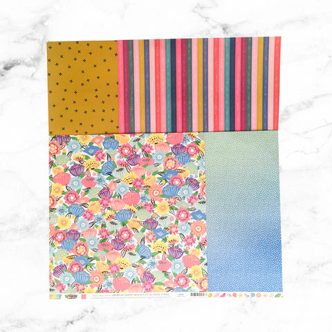 """BRIGHTEN ME UP"" PATTERNED PAPER ADD-ON"