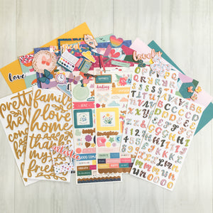 """LAUGHS & FUN"" SCRAPBOOK KIT"