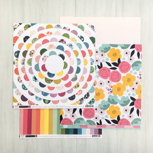 """LAUGHS & FUN"" PATTERNED PAPER ADD-ON"