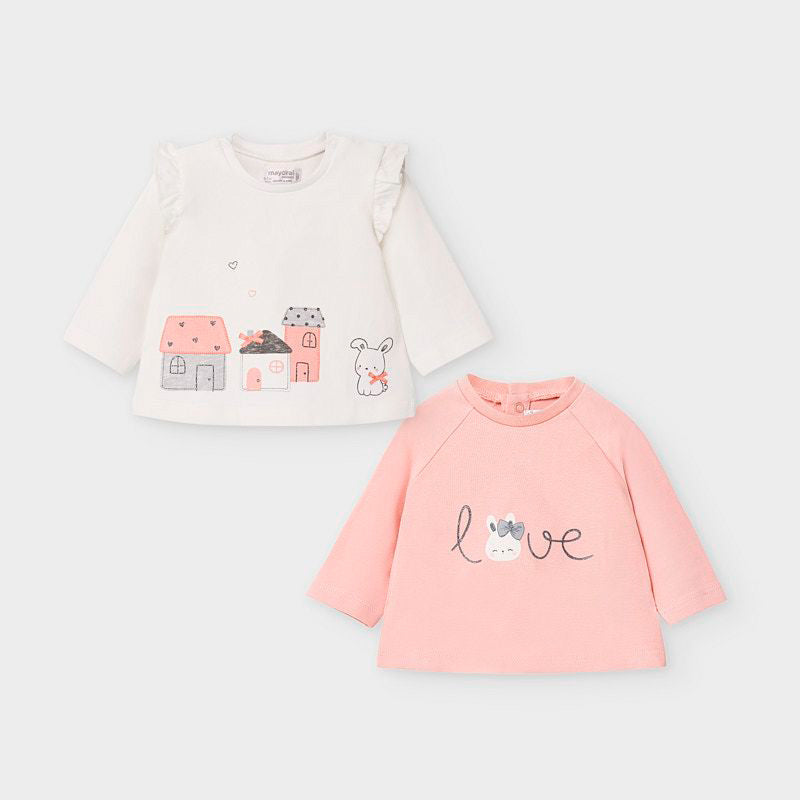 2033 - Baby Girl Tee - Two Styles
