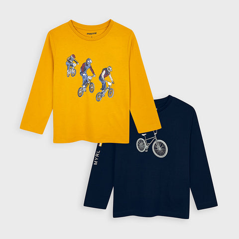 4047 - Boys Long Sleeve Tee -  Two Options