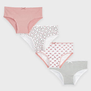 10858 - Girls 4 Pack Underwear - Pinks