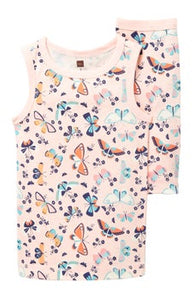 Printed Tank Pajama - Butterfly Flight