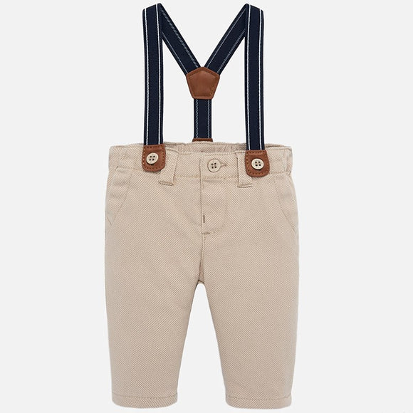 Layette Pants with Suspenders - 2517