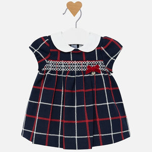 Layette Plaid Dress - 2826