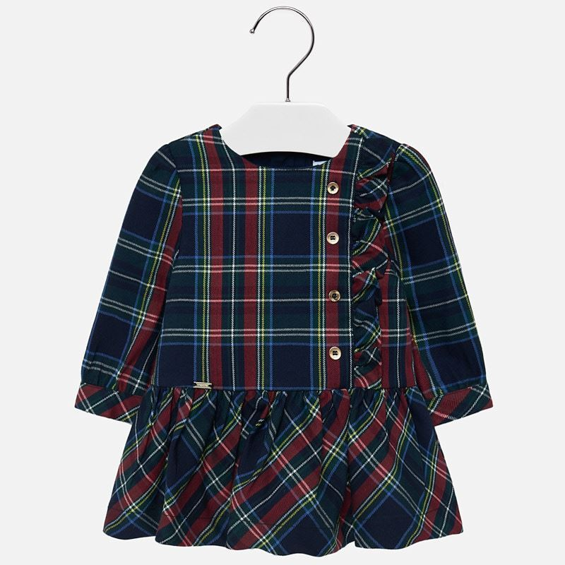Infant Plaid Dress - 2926
