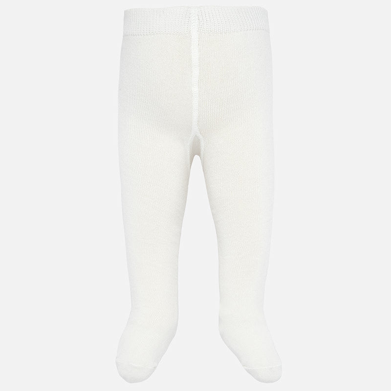 Infant Girl Tights - Ivory - 10628