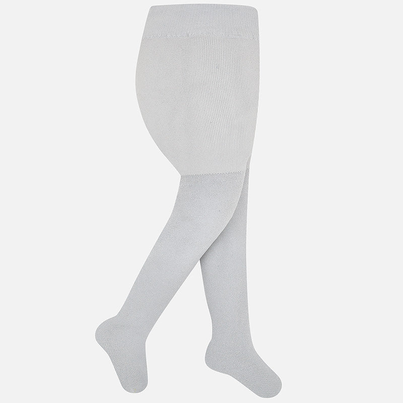 Tights - Metallic Silver - 10668
