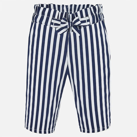 1558 Baby Cotton Pant - Navy Stripe
