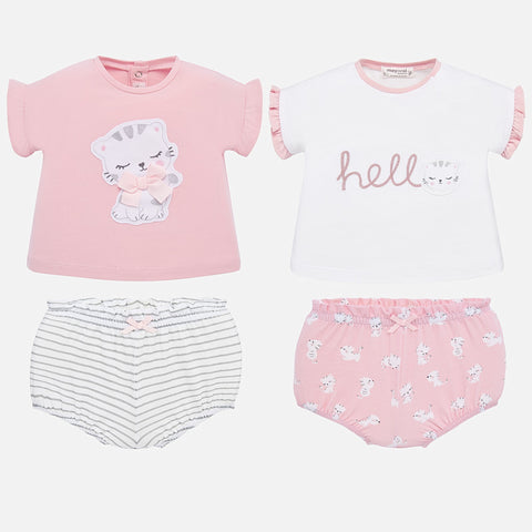 1651 Kitty 2pc Outfit - 2 Options
