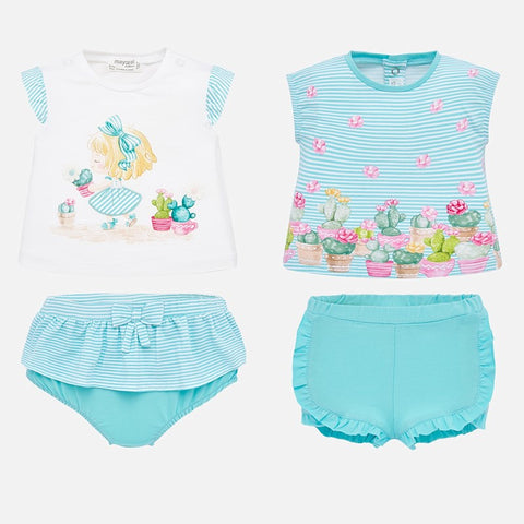 1652 Cactus 2pc Outfit - 2 Options