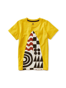 Surf's Up Graphic Tee - Acacia
