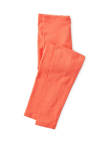 Solid Legging - Orange Buoy
