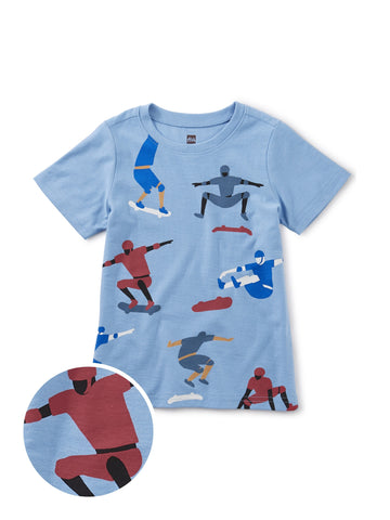 Kick Push Skateboard Tee