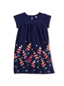 Girls Graphic Dress - Quinoa Flower