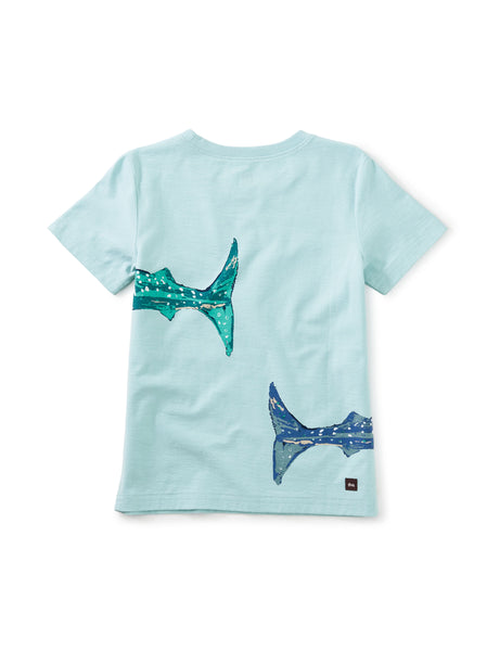 Whale Shark Double-Sided Graphic Tee