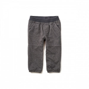 Denim-Like Baby Pants - Phantom