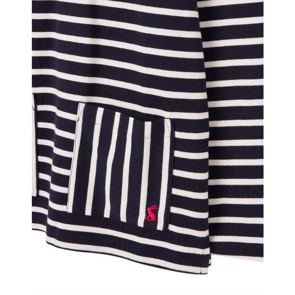 Tween Knit Pull Over - Navy Stripe