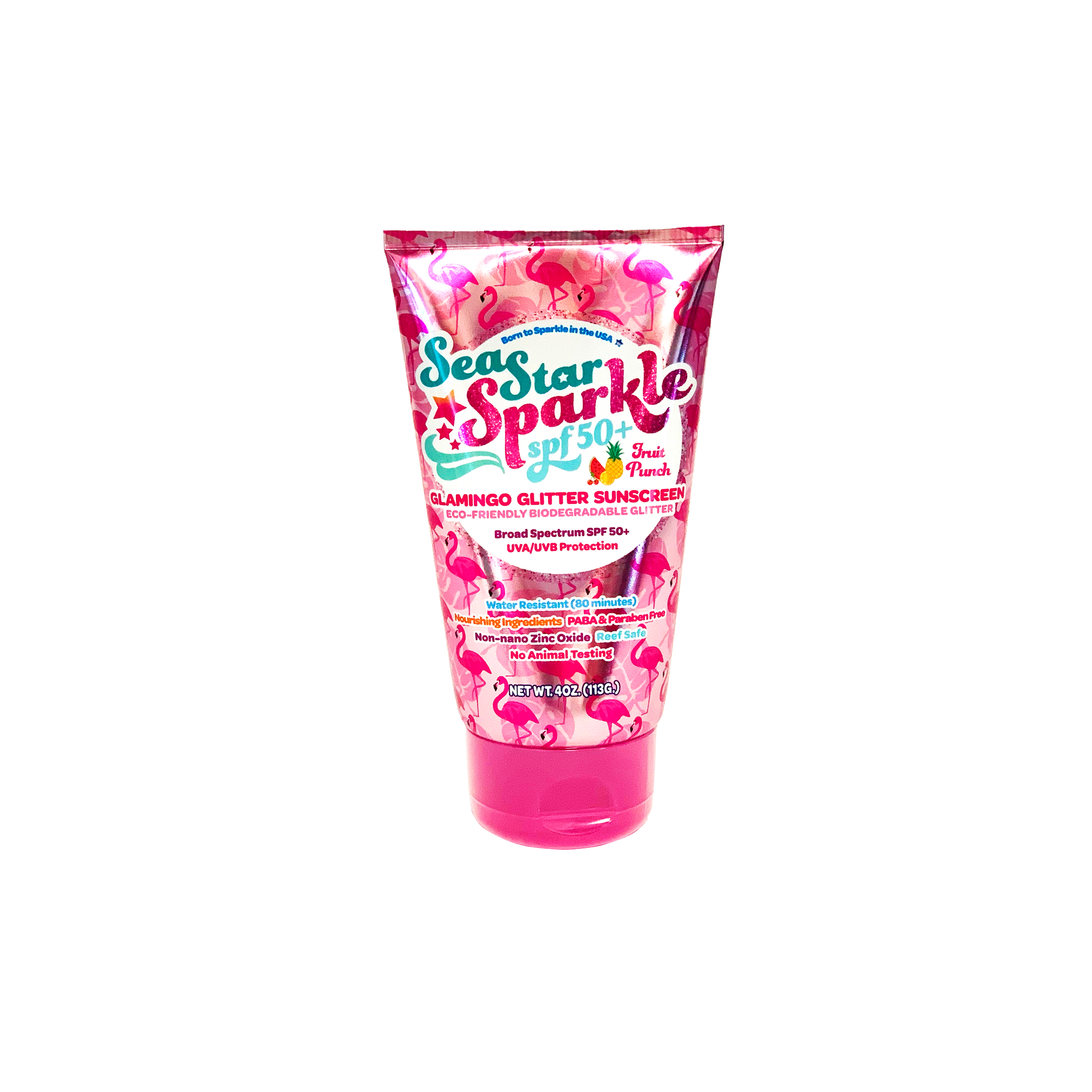 Sea Star Sparkle Sunscreen - Fruit Punch Glamingo Glitter