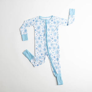 Blue Snowflake Infant Pajama