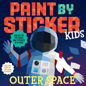 Paint By Sticker Kids - Outer Space