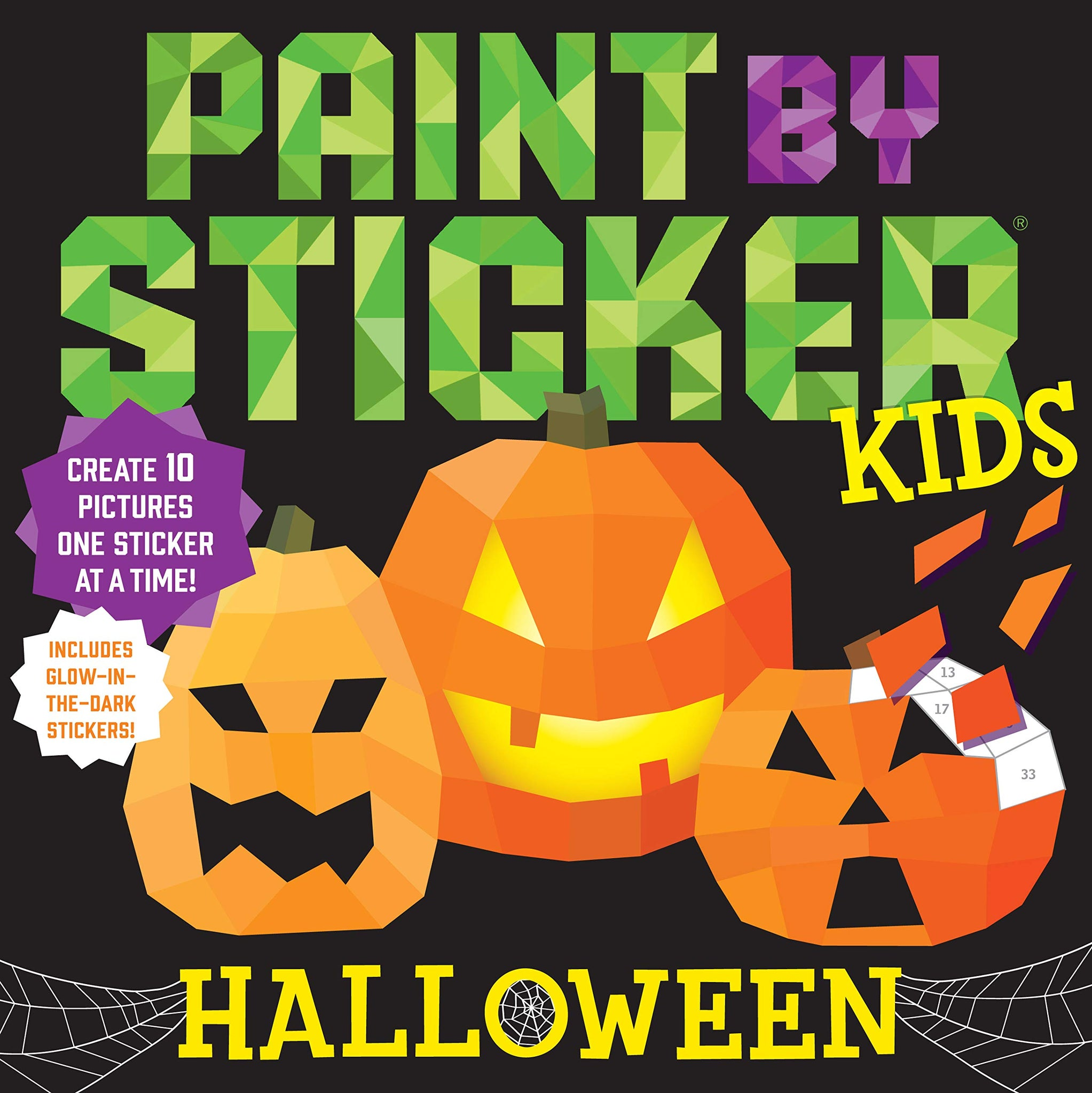 Paint By Sticker Kids - Halloween