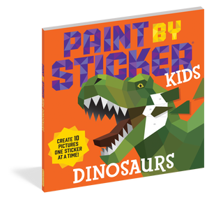 Paint By Sticker Kids - Dinosaurs