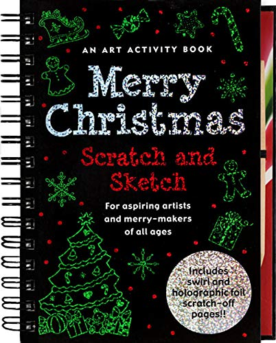 Scratch and Sketch Book - Trace Along Themes