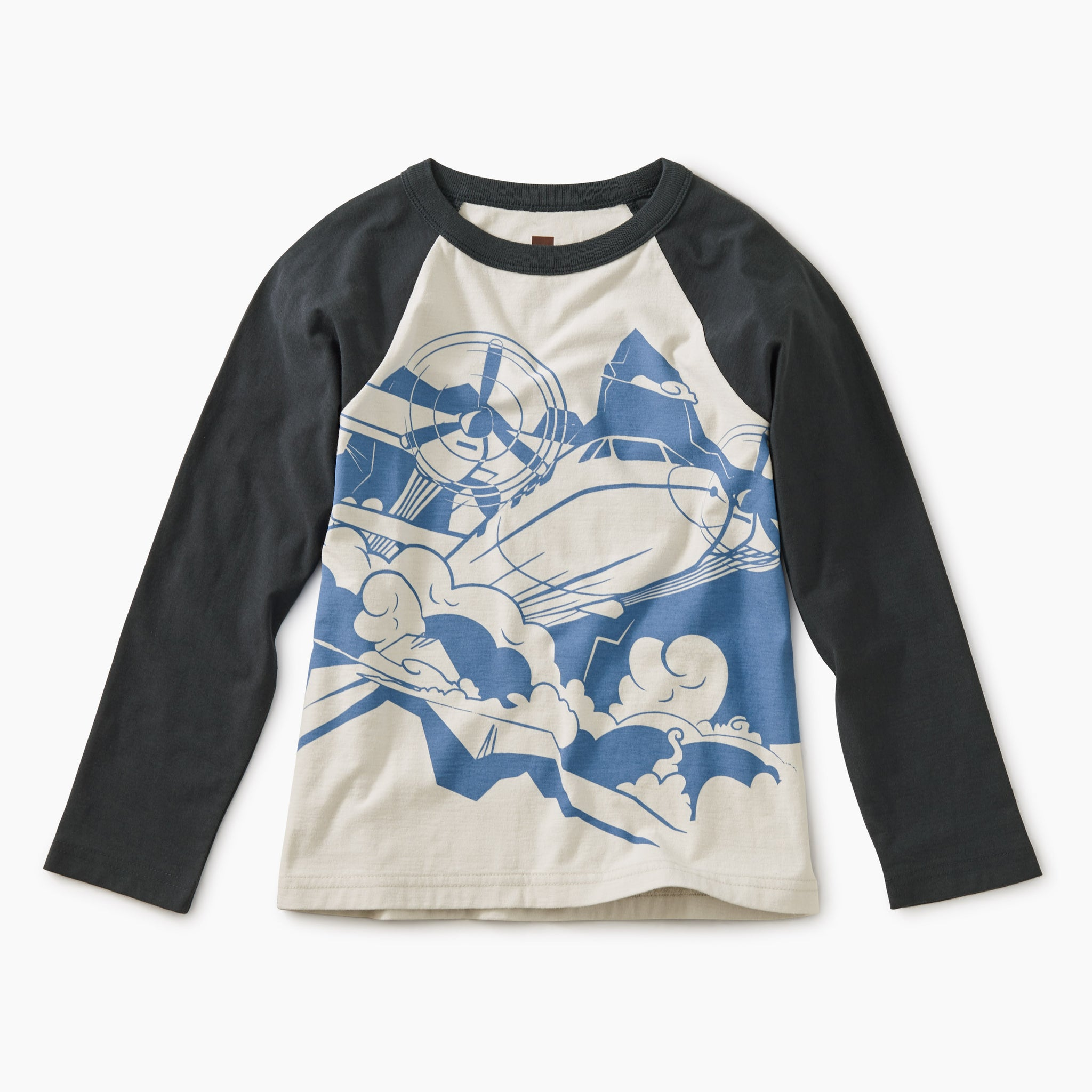 Graphic Raglan Tee - Turbo Prop