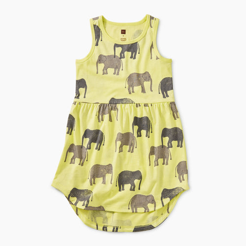 Printed Skirted Tank Dress - Tons of Trunks