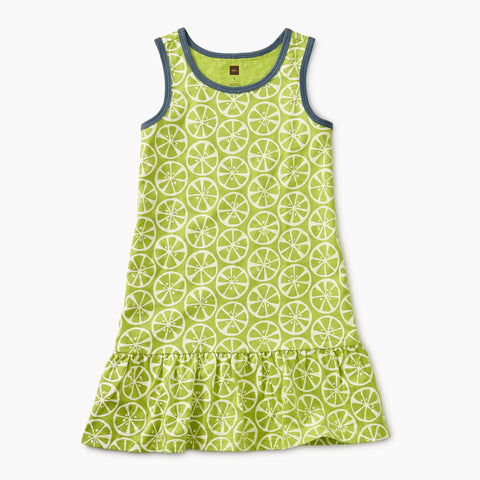 Printed Tank Dress - Bergamot Circles