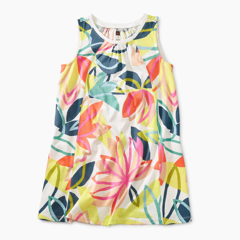 Printed Trapeze Dress - Tradewinds Floral