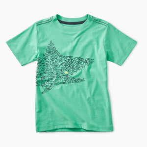 Graphic Tee - Caribbean Green One Big Fish