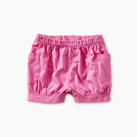 Solid Easy Pocket Shorts - Sweet Pea