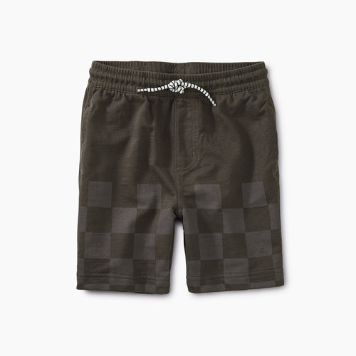 Knit Beach Shorts - Iron