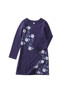 Floral Poppy Dress - Twilight